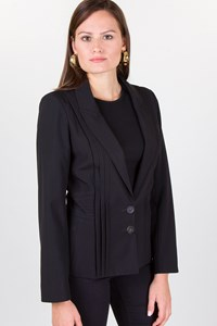 Dior Black Pleated Jacket