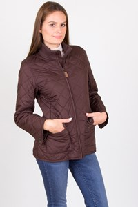 Ralph Lauren Brown Quilted Jacket
