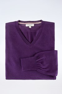 Burberry London Purple Wool Sweater