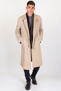 Burberry Beige Classic Trench Coat / Size: ? - Fit: L
