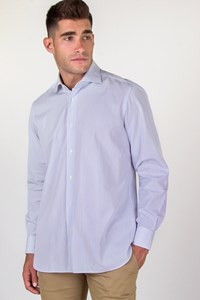 Caruso per Carouzos Striped Cotton Shirt