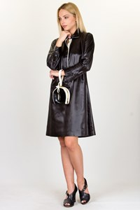 Fendi Black Collar Dress / Size: 44 IT