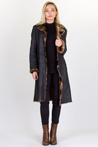Sylvie Schimmel Shearling Double-Sided Coat / Size: 40 FR
