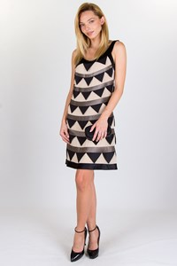 Temperley Triangle Silk Dress