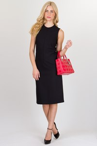 Calvin Klein Black Sleeveless Shift Dress