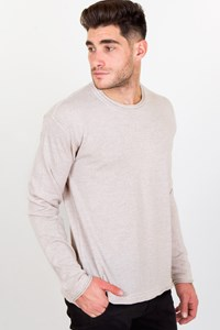 Dolce & Gabbana Beige Wool Knitted Sweater / Size: 45 IT - Fit: L