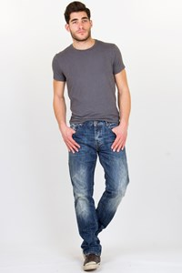 Fifty Carat Blue Distressed Jeans / Size: 34 EU - Fit: M