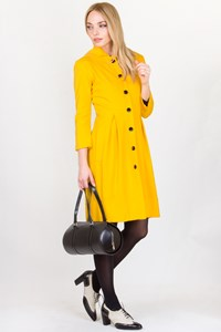 DVF Enza Yolk Light Coat / Size: 4 US - Fit: XS