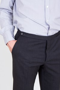 Prada Charcoal Grey Cool-Wool Pants / Size: 48 IT - Fit: True To Size