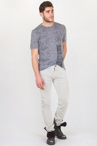 Neil Barrett Light Grey Jersey Jeans / Size: 33 - Fit: True To Size