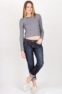 Current/Elliott The Roller Blue Low-Rise Jeans / Size: 25 - Fit: S / M