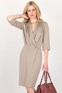 Givenchy Sand Beige Wool Dress