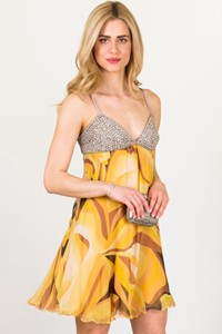 Missoni Embellished Silk Chiffon Dress