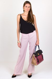Karen Millen Light Pink Pants with Creases