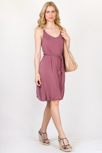 Marella Sport Dusty Pink Jersey Dress / Size: M - Fit: S/M