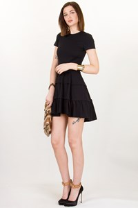 DVF Kerrishang Black Dress