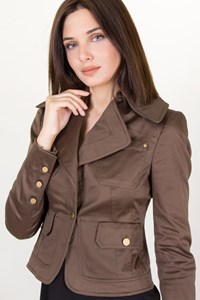 Gucci Brown Military Blazer / Size: 38 IT - Fit: XS