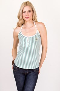 Dsquared2 White-Green Check Cotton Top / Size: 42 IT - Fit: XS / S