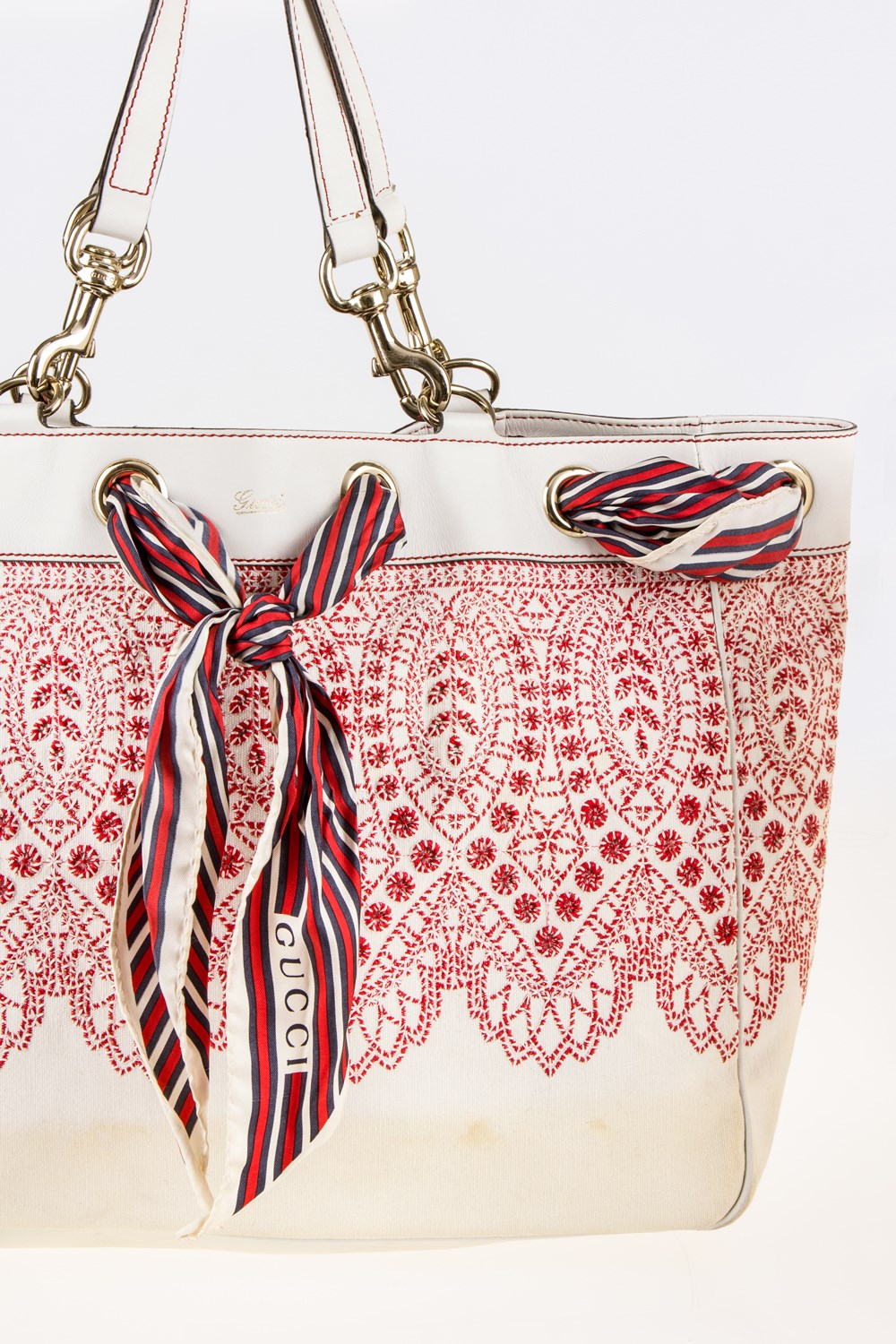 42ba52b0ef6 Positano Embroidered Tote Bag with Scarf