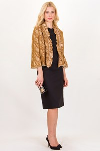 Easton Pearson Bead and Crystal-Embellished Brocade Jacket