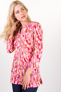 Missoni Mare Multicoloured Cotton Long-Sleeved Tunic / Size: 42 IT - Fit: S