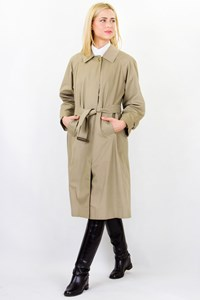 Burberry Beige Oversized Midi Trench Coat / Size: ? - Fit: M / L