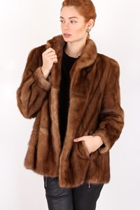 Fur Honey Mink Fur Coat/ Size: ? - Fit: M
