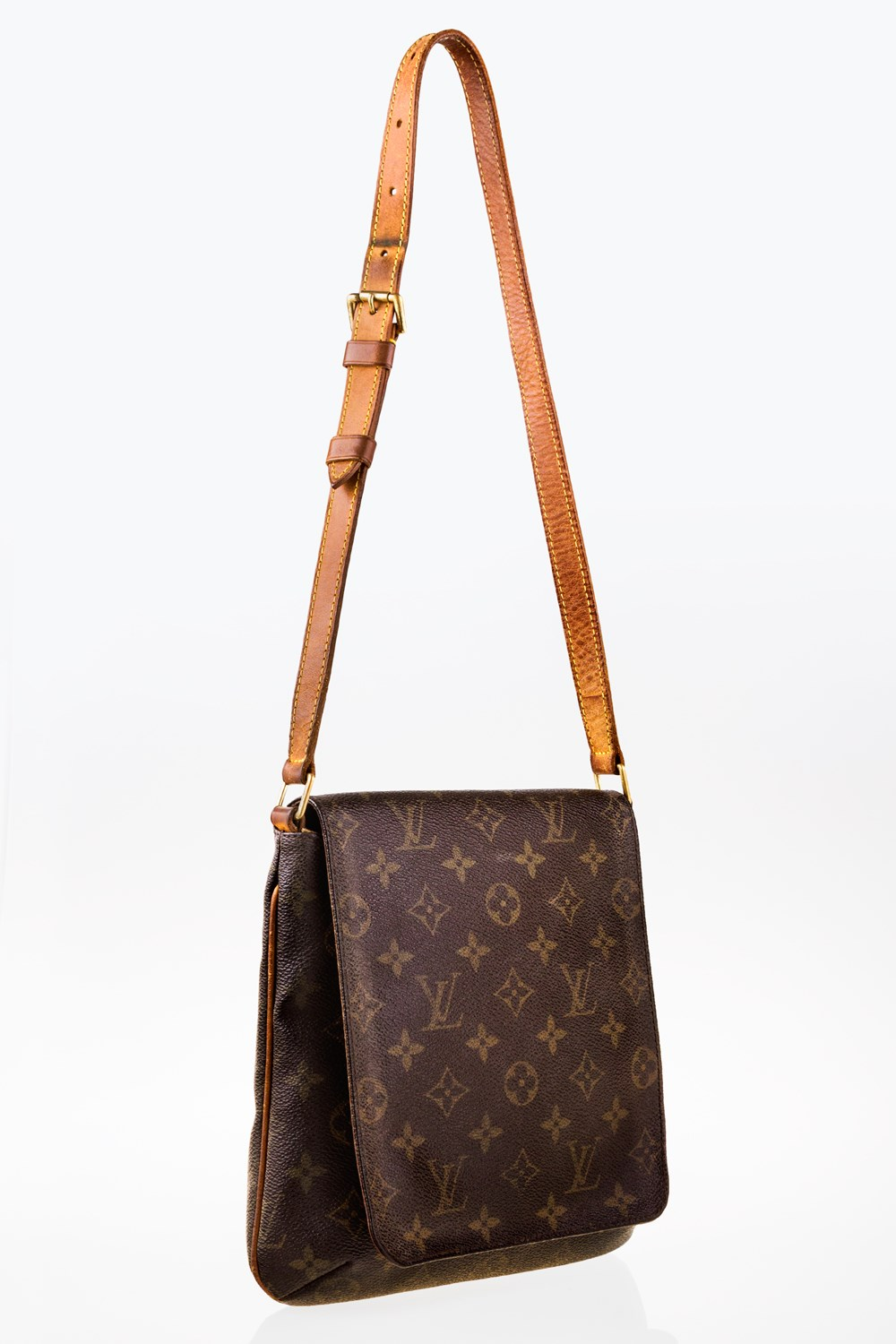 af0770548a Musette Salsa Monogram Canvas Shoulder Bag