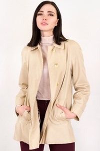 Burberry Beige Lightweight Short A-line Trench / Size: ? - Fit: S
