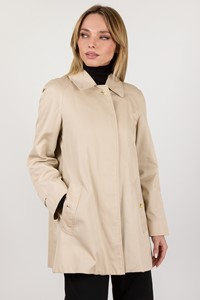 Burberry Beige Lightweight Short A-line Trench Coat / Size: ? - Fit: S