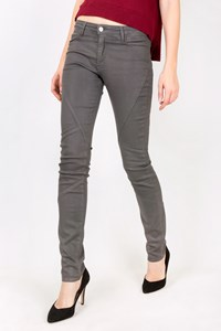 Brockenbow Grey Waxed Skinny Jeans / Size: 27 - Fit: S