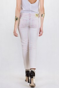 Raser Collectors Jeans Light Pink Distressed Denim / Size: 27 - Fit: XS / S
