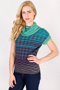 M Missoni Multicoloured Crochet Blouse / Size: 44 IT - Fit: S / M