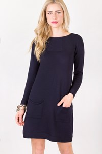 Vengera Blue Wool Knitted Dress / Size: 42 IT - Fit: S
