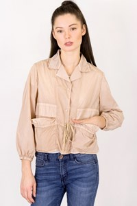 Prada Sport Beige Nylon Lightweight Jacket / Size: 40 IT - Fit: XS