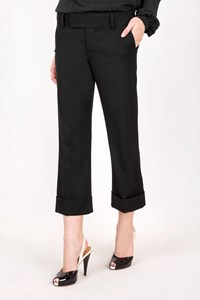 Juicy Couture Black Classic Cropped Pants / Size: 27 - Fit: XS / S