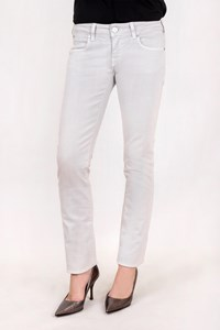 Karl Lagerfeld Ice Grey Straight-Leg Jeans / Size: 28 - Fit: S