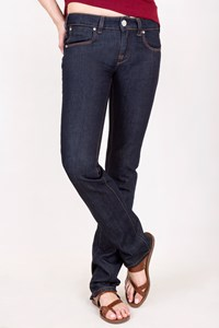 Karl Lagerfeld Dark Blue Straight Jeans / Size: 27 - Fit: XS / S