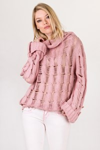 Matthew Williamson Blush Knitted Jumper / Size: 10 UK - Fit: S