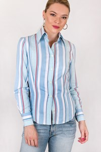 Etro Multicolour Shirt with Stripes and Prints / Size: 38 IT - Fit: XS