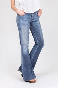 Citizens of Humanity Devote Rocker Blue Flare Jeans / Size: 26 - Fit: S