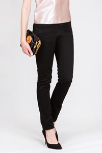 J Brand Black Low-Rise Jeans / Size: 26 - Fit: XS - S