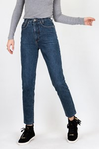 Dolce & Gabbana Vintage Blue Cotton High-Waisted Jeans / Designer size: 26 - Fit: XS