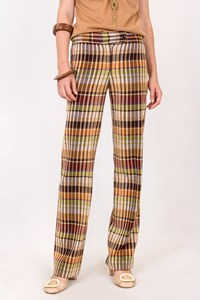 Missoni Multicoloured Check Printed Knit Pants / Size: 38 IT - Fit: XS