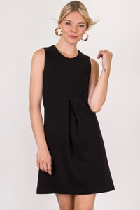 Pinko Black Wool Sleeveless Mini Dress / Size: 42 IT - Fit: XS / S
