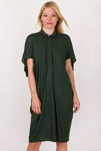 Stella McCartney Forest Green Dress / Size: 42 IT - Fit: S / M