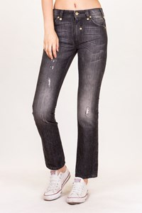 D&G Grey Distressed Jeans / Size: 27 - Fit: XS / S