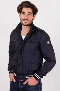 Moncler Blue Lightweight Men's Jacket / Size: 3 - Fit: S / M