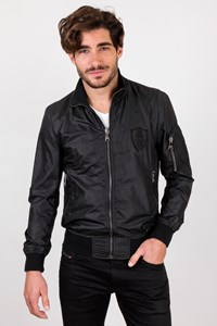 Dolce & Gabbana Black Nylon Lightweight Jacket / Size: 48 EU - Fit: M
