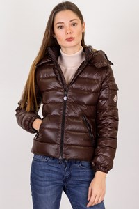 Moncler Brown Puffer Down Jacket / Size: 12 ans - Fit for adults: XS